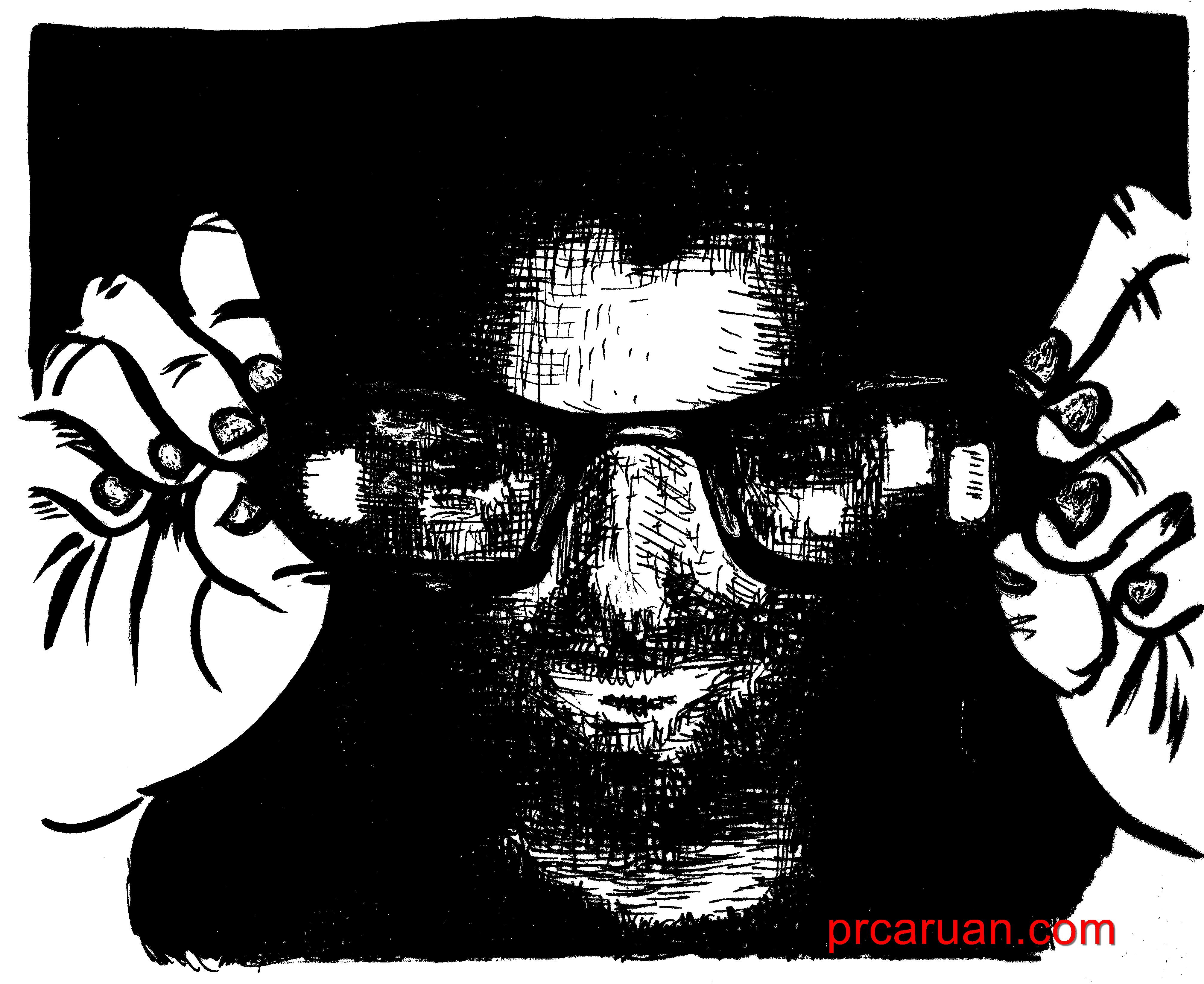 Gafas sucias